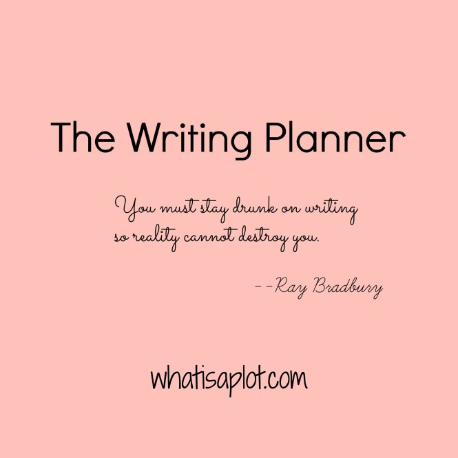Meet The Writing Planner--the only planner designed just for fiction writers. If writing a book is on your list--you need this! Come watch the video to see what's inside.