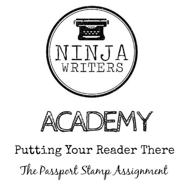 Ninja Writers Academy: Putting Your Reader There. This week we're talking about how setting description draws your reader into your story.