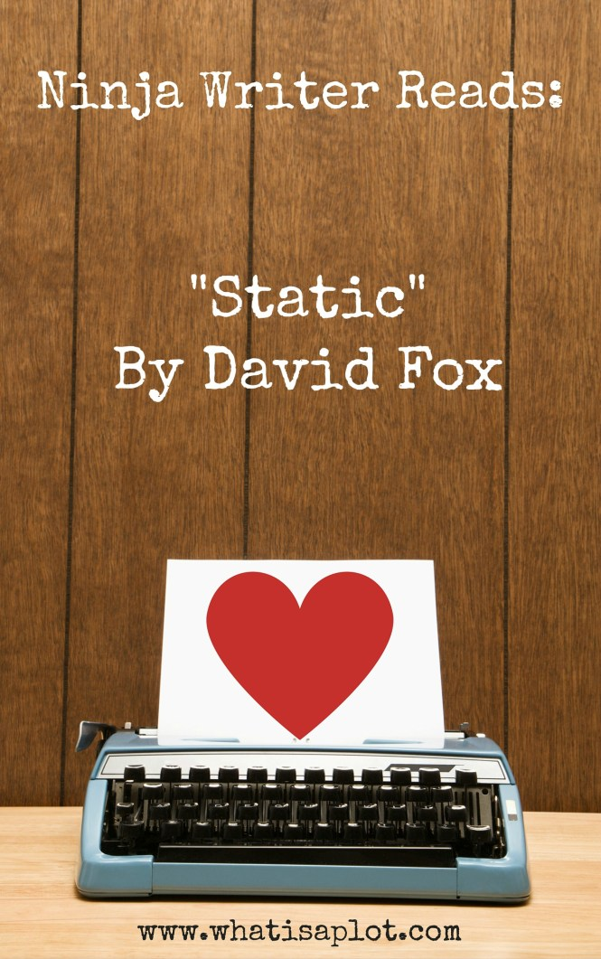 "Ninja Writer Reads: ""Static"" by David Fox"