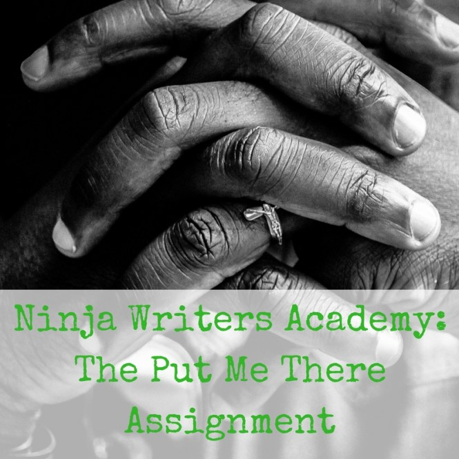 Ninja Writers Academy-The Put Me There Assignment
