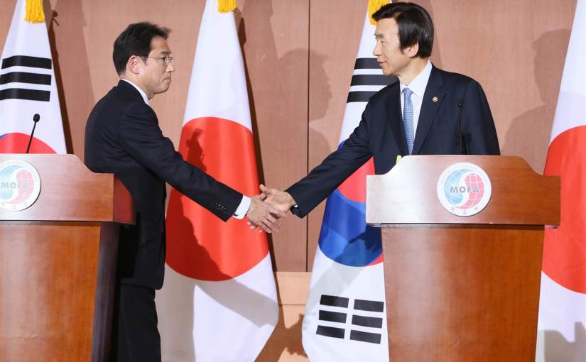 Why South Korea and Japan are not friends