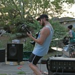 Minor Plains playing at a park in Redding, California. COURTESY PHOTO