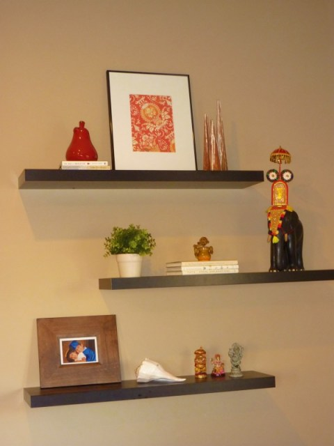decorate book shelves, craft paper