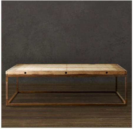 restoration hardware Brickmaker's Table