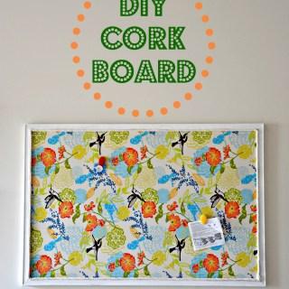 DIY Bulletin Board Tutorial
