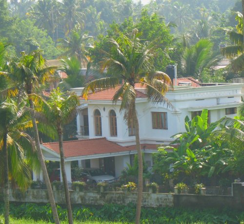 traditional Kerala home building, traditional Indian home