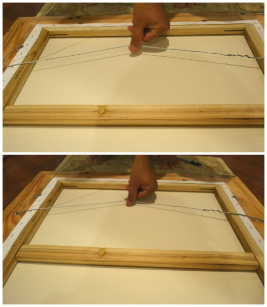 how to frame canvas paintings frame a canvas painting