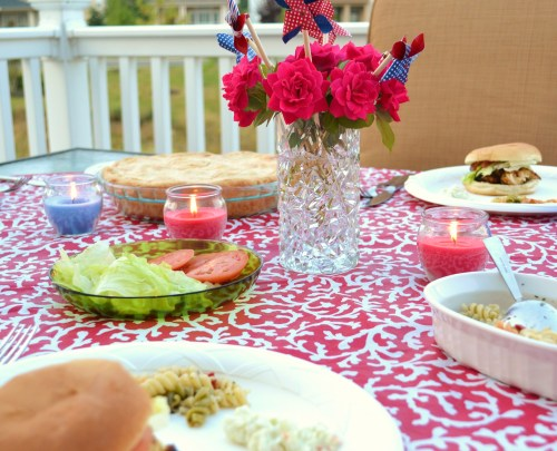 july 4 dinner, july 4 decorating ideas