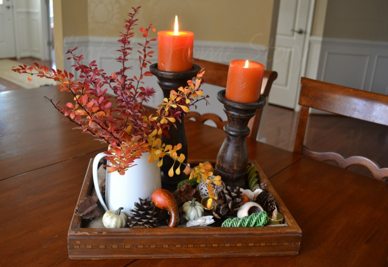 Whats Ur Home Story: Easy Thanksgiving Centerpiece