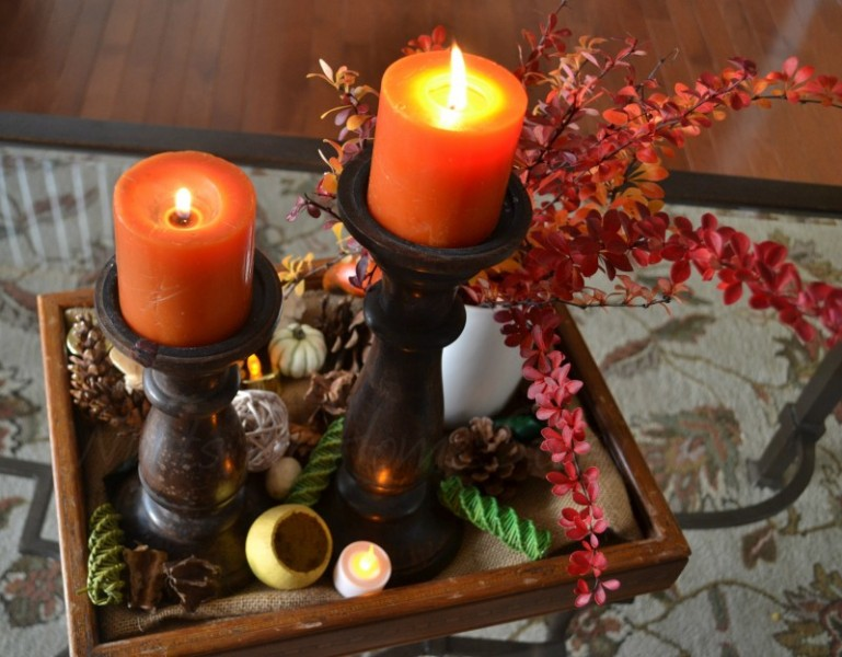 Whats Ur Home Story: DIY Thanksgiving Centerpiece