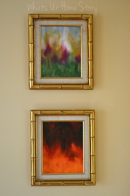 whats ur home story diy art easy way to frame paintings shortcut to