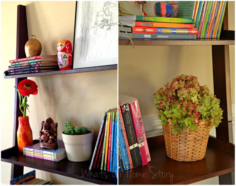 Whats Ur Home Story- Ladder shelves