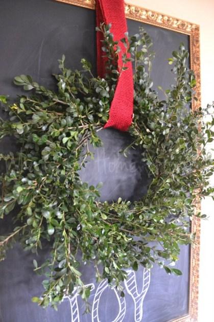 DIY Boxwood Wreath