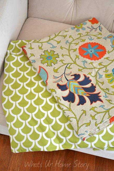 Mary Jo's cloth store, fish scale fabric