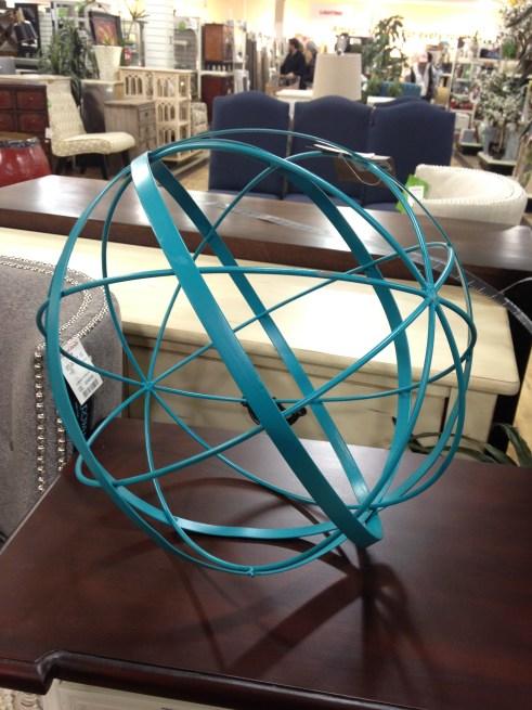 garden orb, orb chandelier, to do list 2014