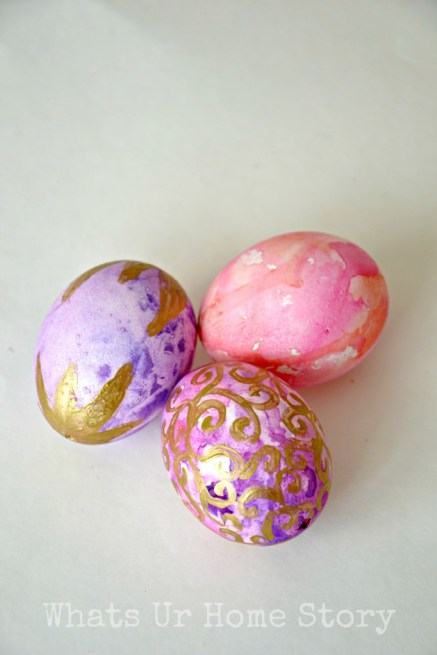 Perfect Kids Easter Craft   Watercolor Eggs