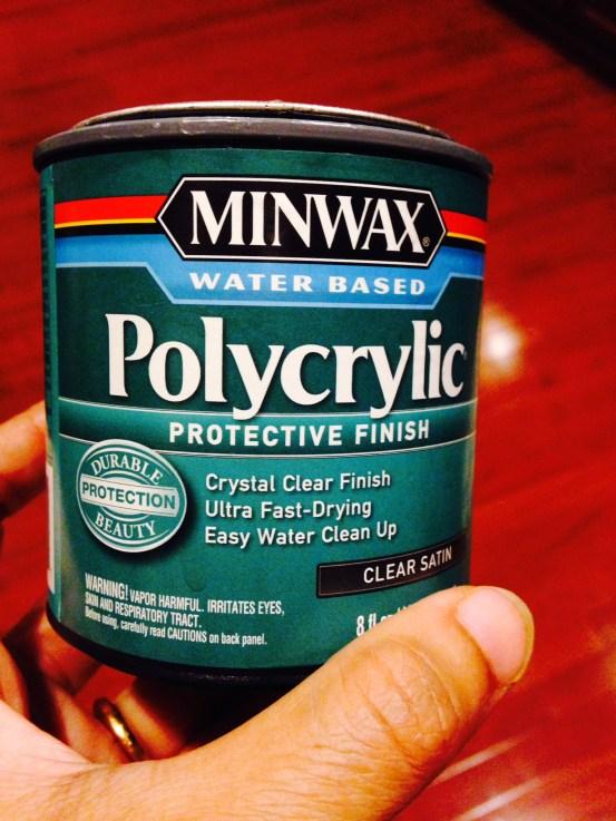 miniwax polycrylic sealer