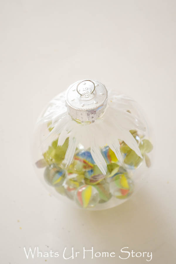 How to make a Christmas ornament with Marbles
