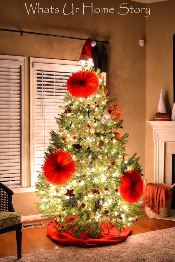Eclectic Christmas Tree, 2014 Christmas Tree