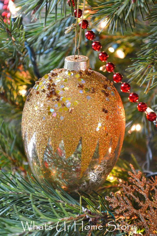 Egg Shaped Mercury Ornament
