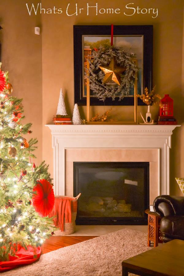 Holiday hosting tips-Holiday Mantel