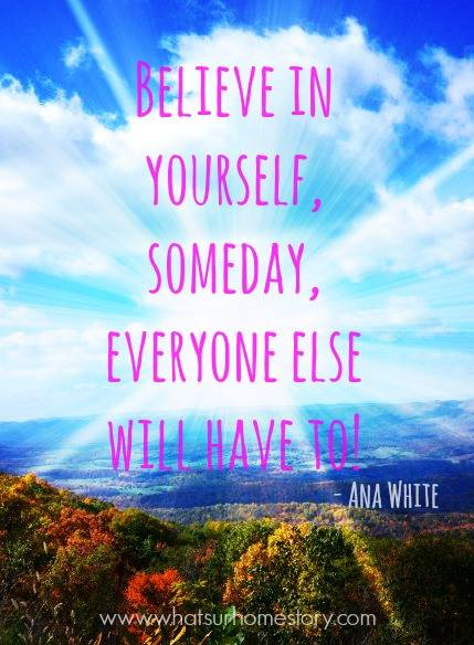 believe in yourself quote; Check out the post for more free quote printables