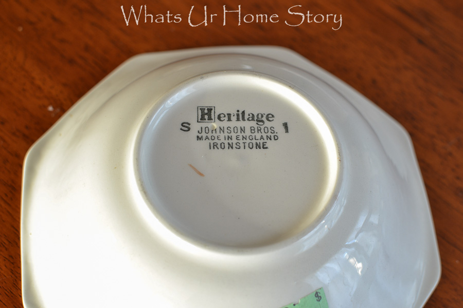 johnson brothers ironstone pottery