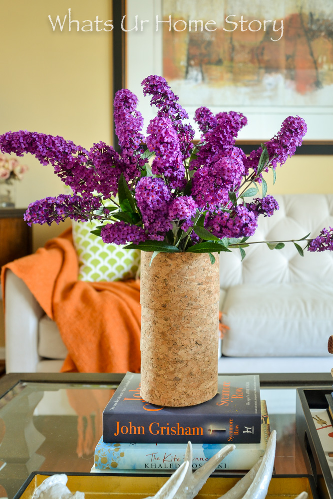 Make this adorable cork vase in 2 minutes