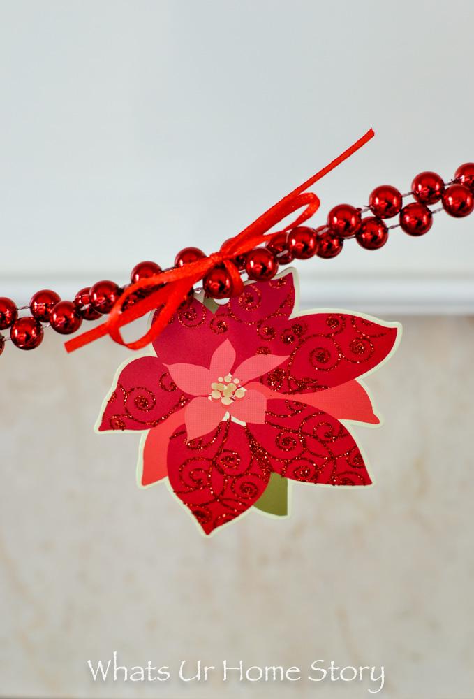 Gift Tag Christmas Garland -holidays with Hallmark