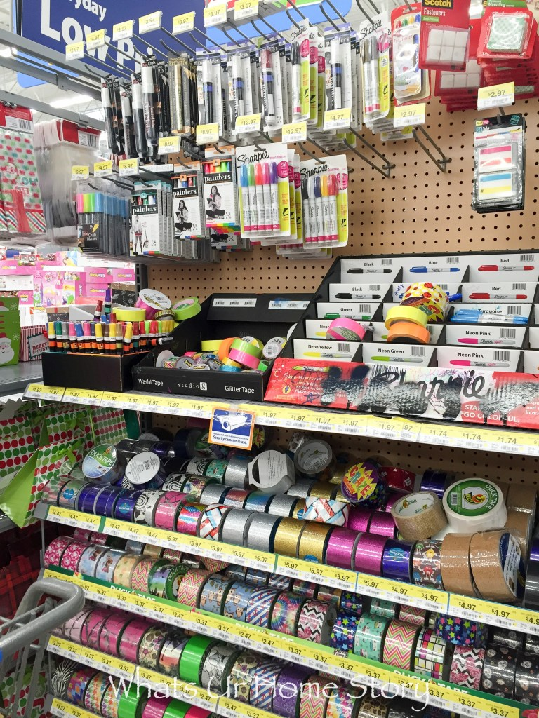 You can find Scotch Expressions tape at the craft aisle in Walmart