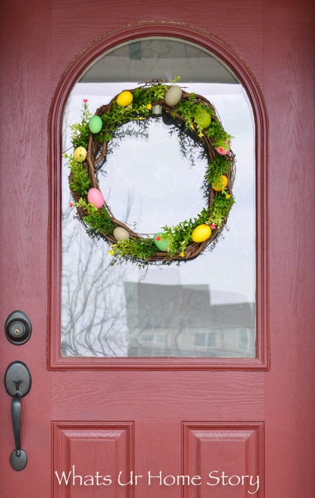Easter Craft Ideas - Easter Egg Wreath