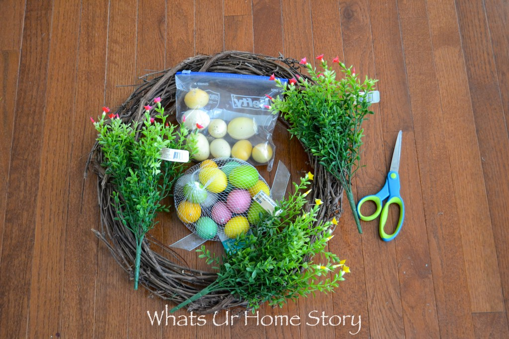 How to make an Easter Egg Wreath- Spring Craft