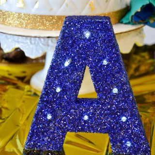 Glitter Marquee Letter