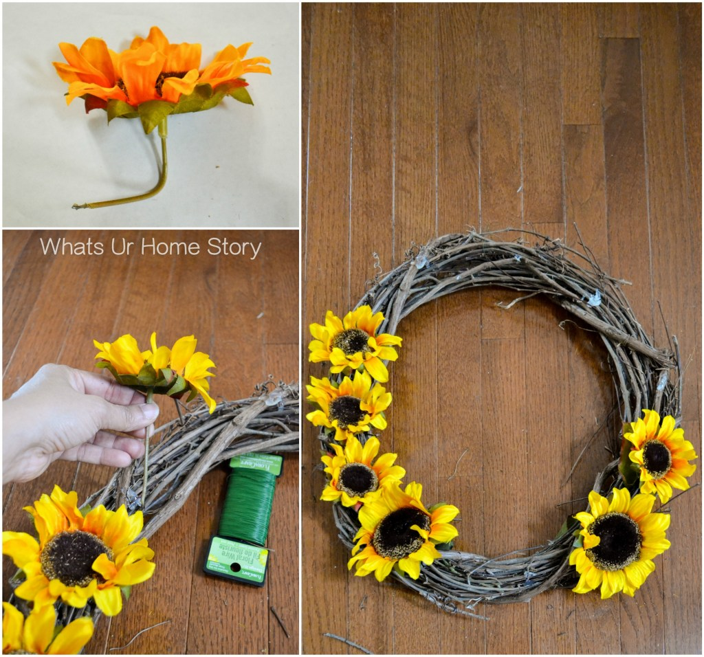 how-to-make-a-sunflower-wreath