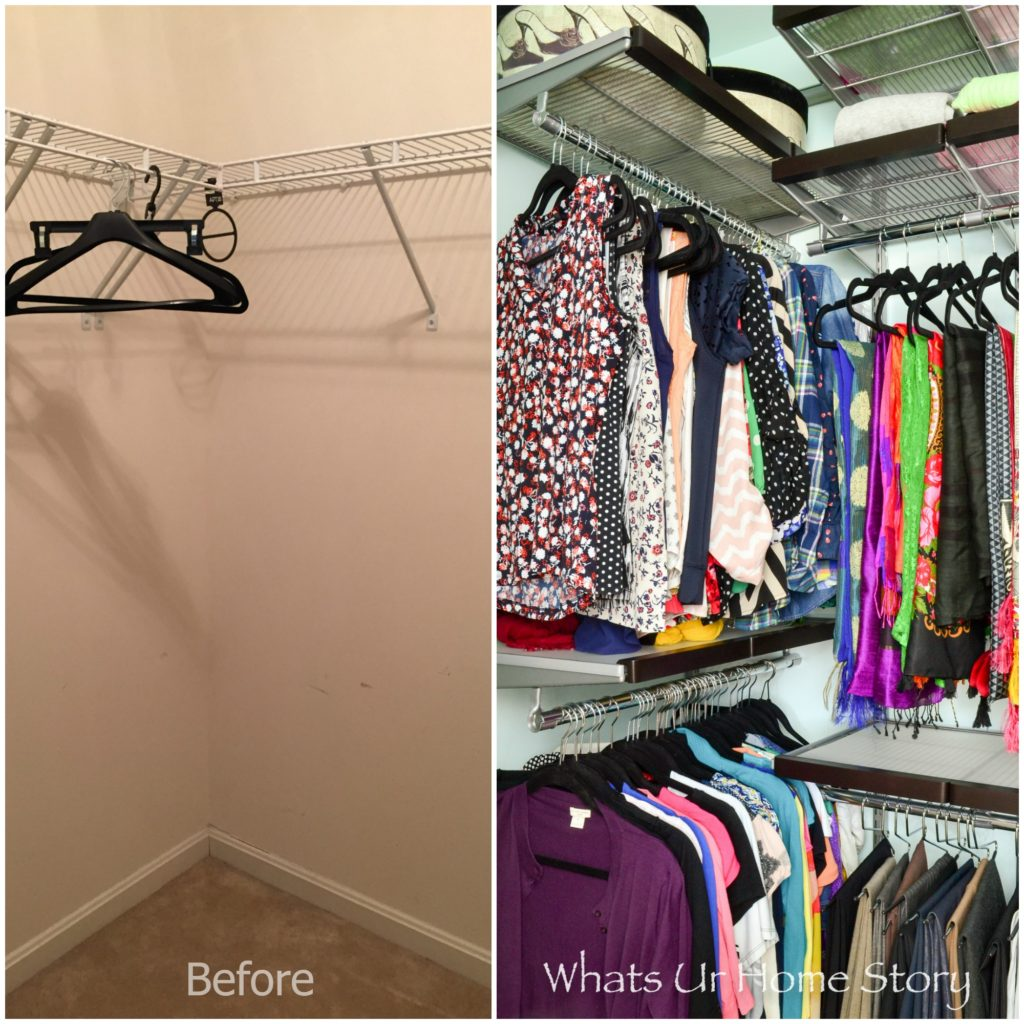 how-to-create-maximum-space-in-a-small-walk-in-closet-her-master-closet-makeover-with-elfa