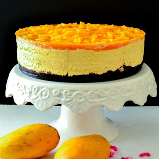 Mango Cheesecake – No Bake Recipe
