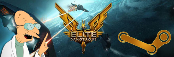 elite dangerous on steam players will get a key