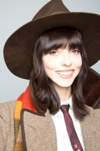 Juliet Landau closeup as Fourth Doctor