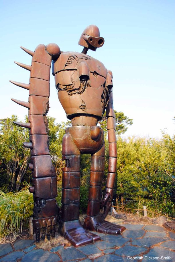 The giant from Laputa Castle in the Sky, Studio Ghibli Museum, Tokyo.