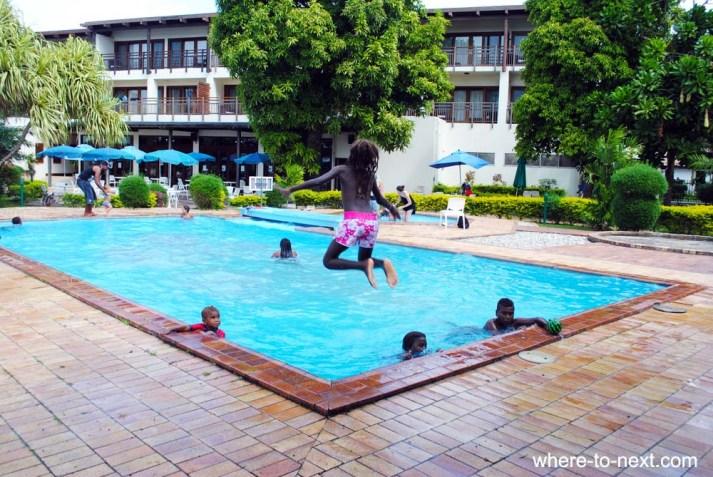 Kids Solomon Kitana Mendosa Hotel Honiara