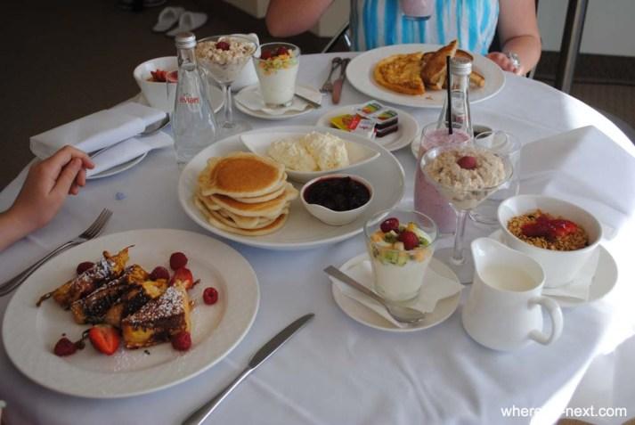 In Room Breakfast at Novotel Darling Harbour