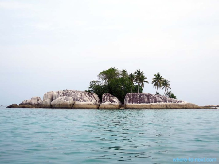 Island hopping around Belitung