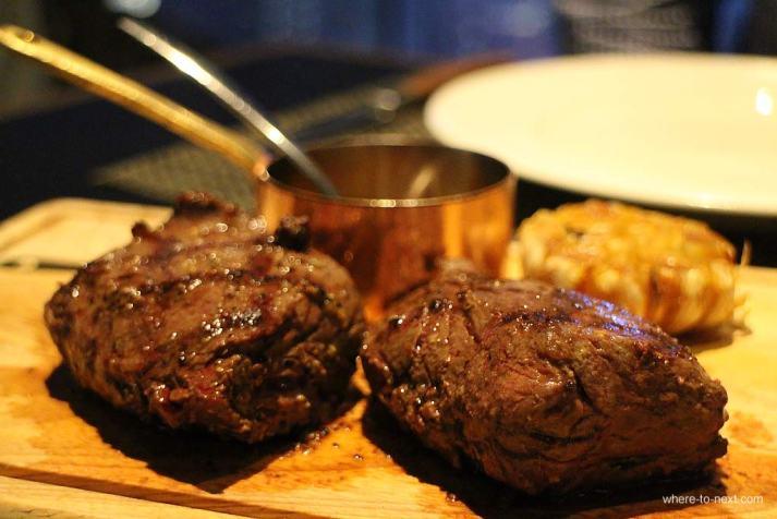 Steak, Penthouse by Harlan Goldstein, Hong Kong