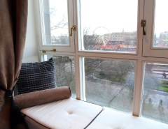 Edinburgh Accommodation, Fraser Suites window