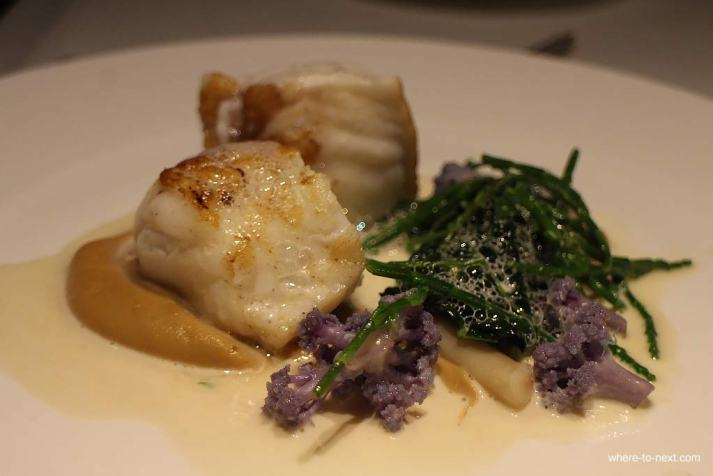 Monkfish, Ting Restaurant, Shangri-La at the Shard, London