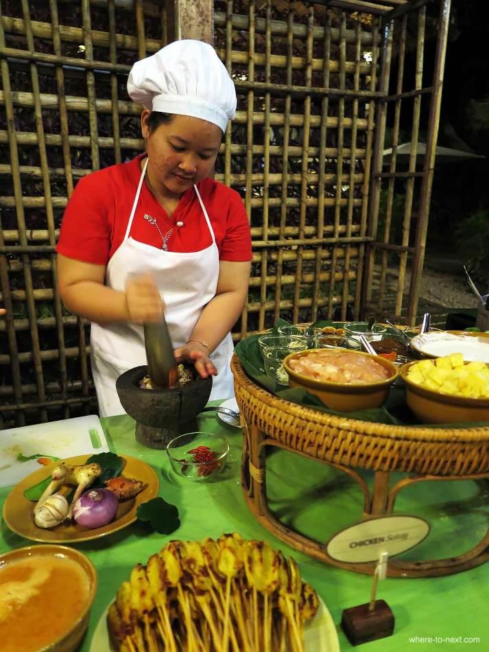 Thai Cooking Class, elephant hills, Khao Sok, Thailand