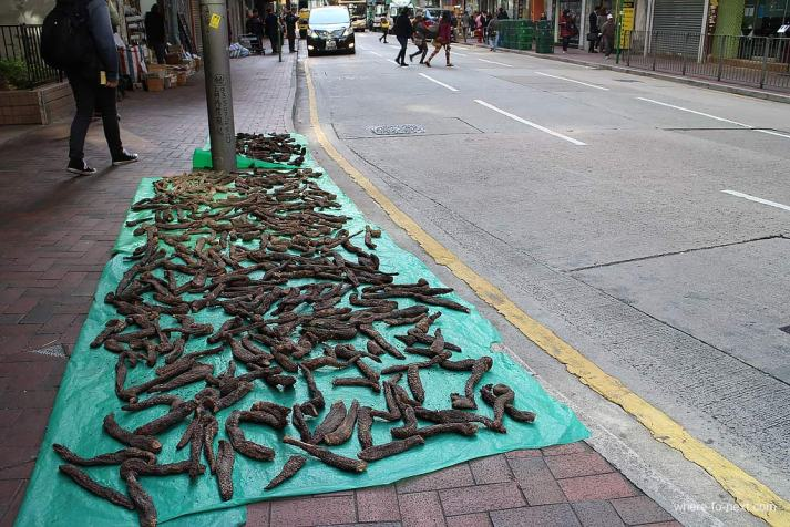 Dried Seafood Street, Hong Kong