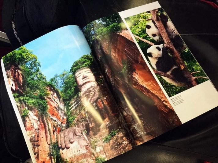 Travel 3 Sixty magazine spread