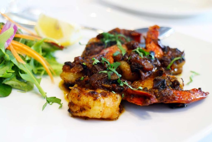 Mellagu prawns - Malabar restaurant review
