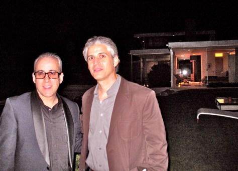 Filmmaker Eric Bricker at the Kaufman House